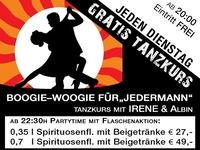 Jeden Dienstag – Tanzkurs Boogie-Woogie@Mausefalle