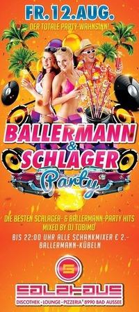 Ballermann & Schlager Party@Salzhaus