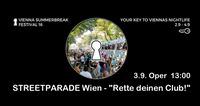 Rette deinen Club! - Streetparade 2016@Praterdome