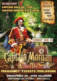 Captain Morgan schickt Dich zum Frequency Festival@Level 26