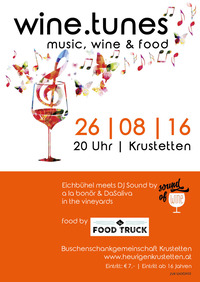 wine.tunes | music, wine & food