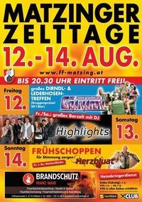 Matzinger Zelttage@Matzing Festgelände