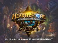 Fr 12.8. - So 14.8. / täglich ab 11:00 Hearthstone Summer Preliminary Europe & Tavern Hero Tournament - World Championship Tour @Weberknecht