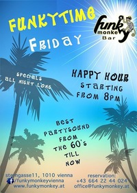 Funkytime !!! - Friday August 12th 2016@Funky Monkey