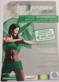 Fit Fabrik Sommerfest Wels @Orange Club