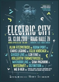 Electric City 2016@Maag Music Hall
