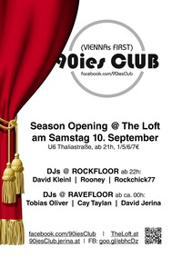 90ies Club: Loft Season Opening!
