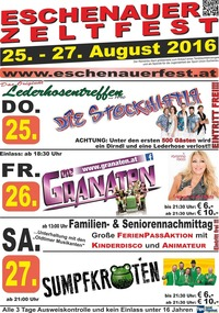 Eschenauerfest 2016@Festzelt