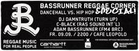 Bassrunner Reggae Corner Special!@Café Leopold