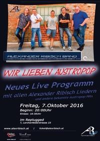 Alexander Ribisch Band LIVE ! Wir lieben Austropop@REPLUGGED