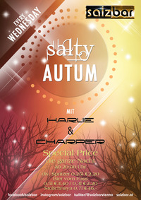 Salty Autumn every wednesday@Salzbar