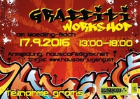 Graffiti - Workshop@Hauscafé Jugendzentrum