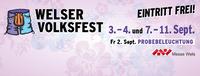 Welser Volksfest 2016 - Probebeleuchtung@Messegelände Wels