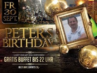 Peters Birthday@Mausefalle