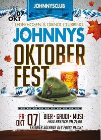 Oktoberfest- WIESN Clubbing@Johnnys - The Castle of Emotions
