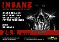 Insane - Live: Chaos Remains, Gates Of Sleep, Pay The Ferryman, Dead Territory@Viper Room