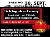 Schlag den Lenny – Würfeln@Partymaus Wörgl