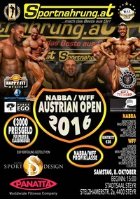 NABBA Austrian Open 2016