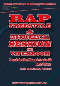 Rap Freestyle and Instrumental Session@Viper Room