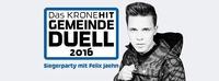 Siegerparty KroneHit Gemeinde Duell 2016@Festgelände