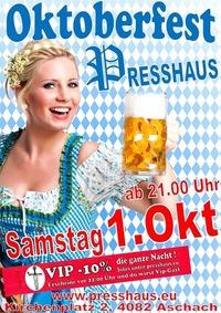Oktoberfest im Presshaus Aschach @Presshaus Aschach
