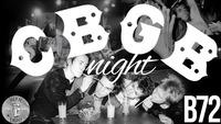 CBGB 10 YEARS Closing@B72