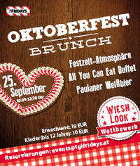 Oktoberfest Brunch@TGI Fridays Wien