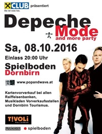 30te Depeche Mode & more Party@Spielboden