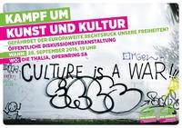 Kampf um Kunst und Kultur – Gefährdet der europaweite Rechtsruck unsere Freiheiten?@Thalia