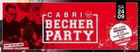 Cabrio Becher Party@Cabrio