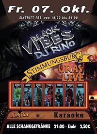 Black Vibes & URAS Live@Excalibur