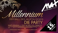 BORG proudly presents ▲▲ Millennium - DIE PARTY ▲▲@MAX Disco