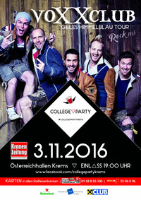 College Party Krems - Special Guests: voXXclub