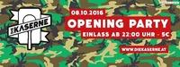 Die Kaserne - Opening Party 8.10.2016@Die Kaserne
