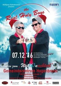 """""""The Real Holy Boys"""" laden zum """"Wei(h)nachterl"""" ins Gemeindezentrum Hagenbrunn"""