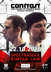 CONTRAST presents SPECTRASOUL & KIMYAN LAW