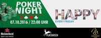 HAPPY | Pokernight powered by Heineken und Montesino@Platzhirsch