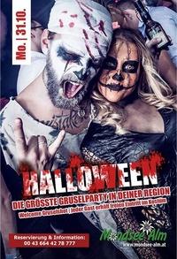 Halloween Party -@Mondsee Alm