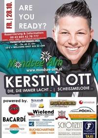 Kerstin Ott LIVE - Mondsee Alm@Mondsee Alm
