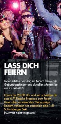 Lass dich feiern!@Fabrics - Musicclub