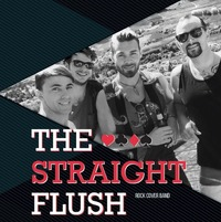 Live Musik - The Straight Flush@Cafe Forum - Cocktail & Winebar