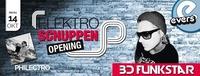 Elektroschuppen mit BD Funkstar & Philectro@Evers