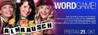 WORD GAME Party!@Almrausch Weiz