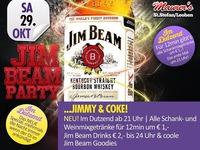 Jim Beam Party@Maurer´s