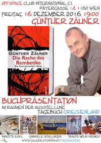 Günther Zäuner Die Rache des Rembetiko@Cafe Club International C.I.