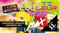 HLW proudly presents ▲▲ Multicouleur - DIE PARTY ▲▲@MAX Disco