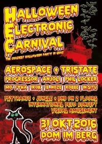 Halloween - Electronic Carneval GRAZ@Dom im Berg