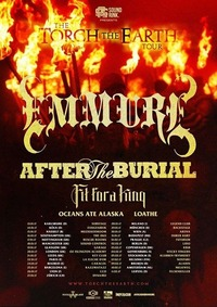 The Torch the Earth Tour ft. Emmure us@Arena Wien