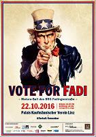 Vote for Fadi - Maturaball des BRG Fadingerstraße@Palais Kaufmännischer Verein