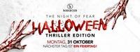 Halloween • Thriller Edition • 31/10/16@Scotch Club